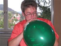 Ingo mit Ballon