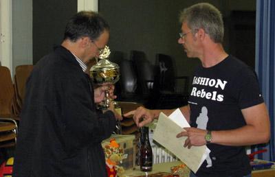 Siegerehrung Schachhappening