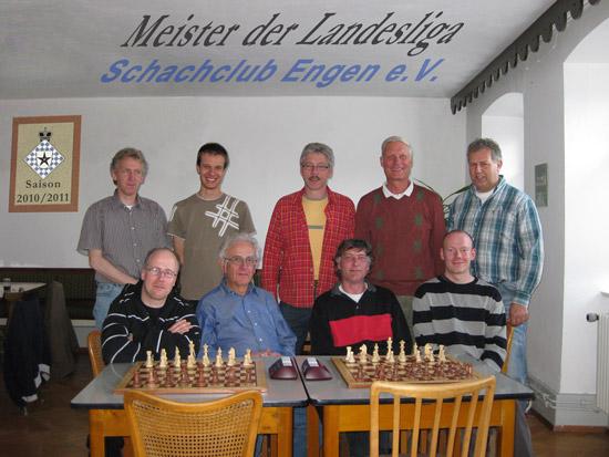 Meisterfoto Landesliga 2010-2011